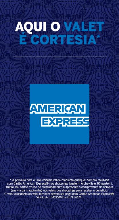 Valet gratuito para clientes AMEX