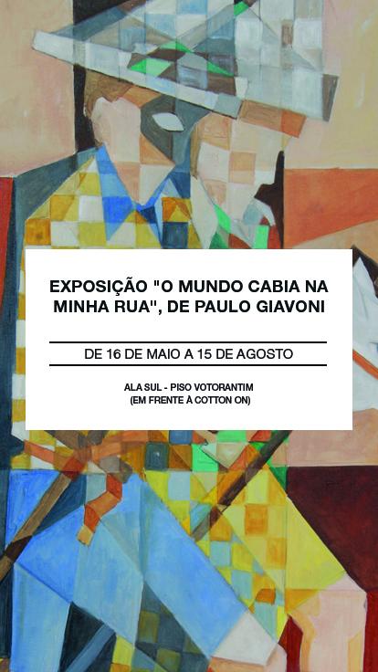 Exposição Paulo Giavoni