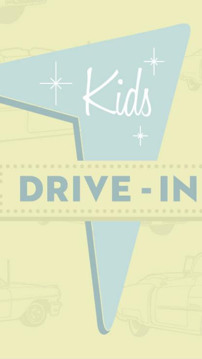 drive in kids
