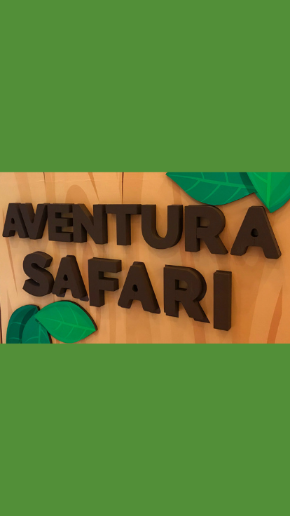 Aventura no safari