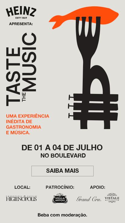 1ª edição do Taste the Music