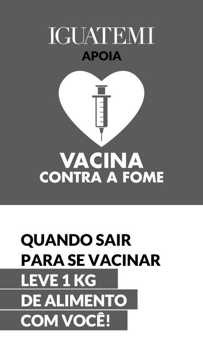 Camapnha vacina contra a fome